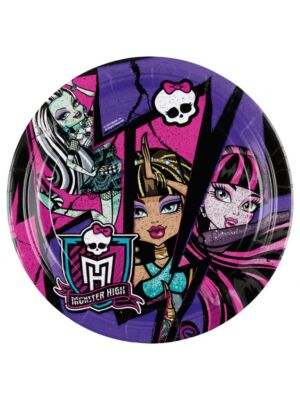 Monster High  |  Plate | 23 cm